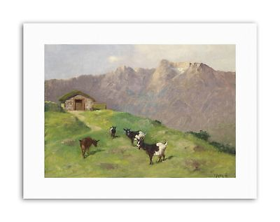 HEYER MOUNTAIN GOATS Poster Picture Painting Canvas art Prints