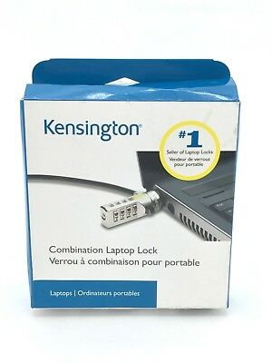 Kensington Laptop Combination Lock | Security Device (DE55)