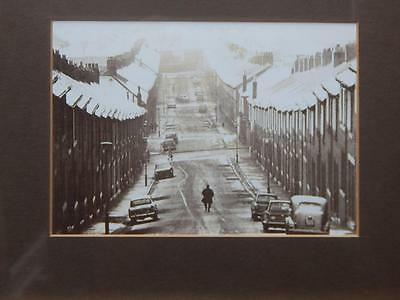 Set of 3 Vintage Framed Sepia B&W Pictures NEWCASTLE BYKER Postcard Photo Prints