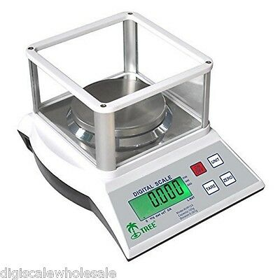 Tree KHR 123 Precision Lab Balance Milligram Weigh Scale Top Loader 120g x 0.001