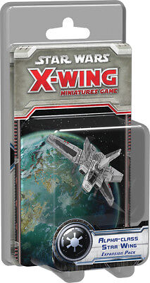 Star Wars X-Wing - Alpha-class Star Wing Factory Sealed NIB Brand New Expansion