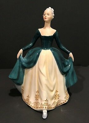 Vintage Royal Doulton Porcelain Figurine HN2709 Regal Lady - Mint Condition