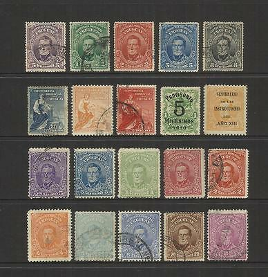 Uruguay ~ 1910-1915 Definitives & Commemorative (Part Sets)