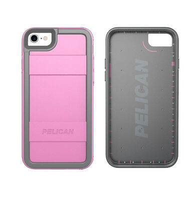 Pelican Dual Layer Protector iPhone 7 Case - Pink / Gray
