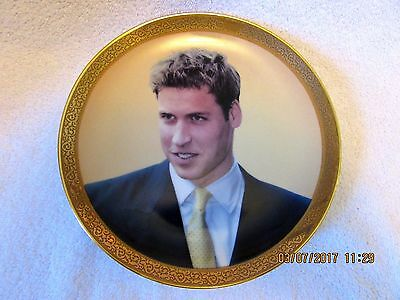 Prince William Collector Plate A KING IN WAITING Limited Edition EX!