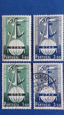PORTUGAL 1 Mint Set & 1 Used Set of Stamps as Per Photos CV $450.00+. Bargain