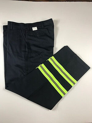 New Red Kap Reflective Pants Hi Vis Safety Towing Navy Work Uniform  PC20DN