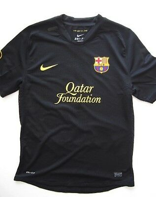 Barcelona 2012 Nike Herbalife Rare Player Issue Third Black Soccer Jersey Messi