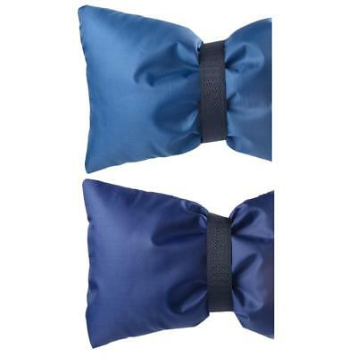 2pcs Insulated Soft Flexible Faucet Cover for Freeze Prevention 1 Piece Blue