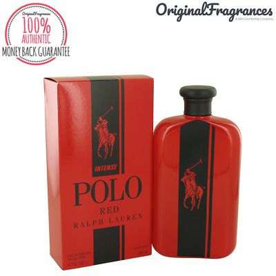 Polo Red Intense Cologne 4.2 / 6.7 oz By RALPH LAUREN FOR MEN EDP SPRAY NEW NIB