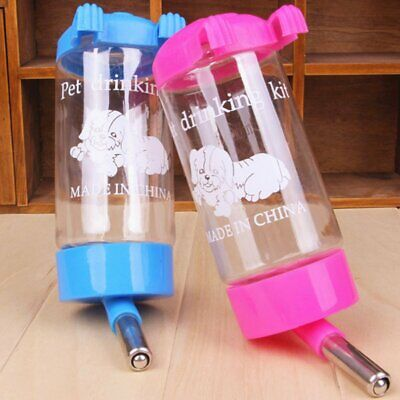 500ml Pets Puppy Rabbit Dog Cat Bird Hanging Drinking Bottle Water Feeder
