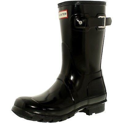 Hunter Women's Original Short Mid-Calf Rubber Rain Boot