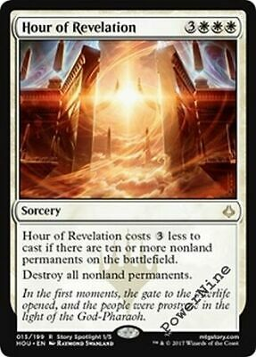 4 Hour of Revelation - White Hour of Devastation Mtg Magic Rare 4x x4