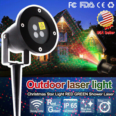 Laser Fairy Light Projection Projector Christma Outdoor Landscape LED StarryLamp