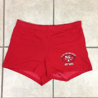 Vintage 70s Champion Cotton/Nylon San Francisco 49ers Shorts - Sz 34 Lrg