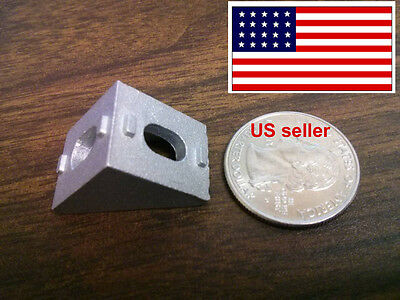 Cast Corner Bracket for 20mm Aluminum Extrusion 20x20x17mm (Pack of 25)
