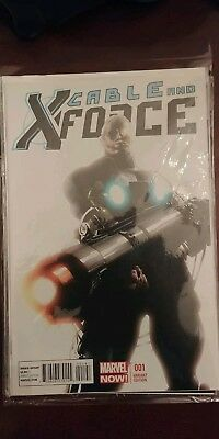 Cable and The X-Force #1 1:150 variant NM Plus bonus 1:50 issue 2 & 3 Deodato