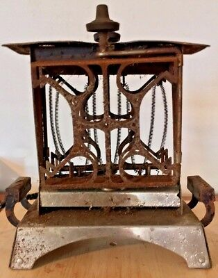 Antique Star-Rite Reversible Electric Toaster by Fitzgerald Mfg. Co. IT WORKS!!!
