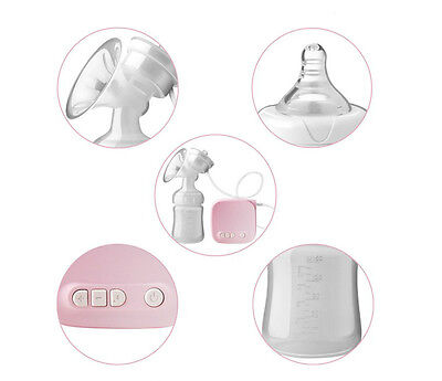 Advanced With USB Single Electric Breast Pump New Baby Infant Feeding Bottle  R