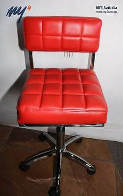Hydraulic Salon Stool Chair Hairdressing Beauty Barber (RED ONLY)