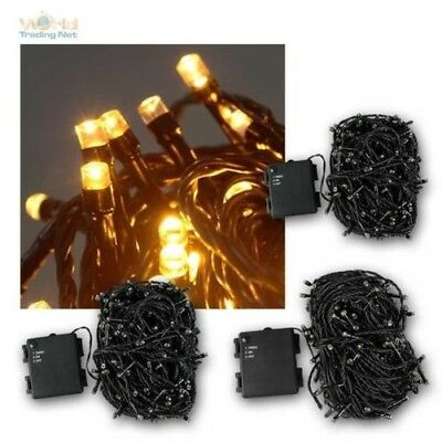 Battery Light Chain 180/240/300 LED IP44 for Outdoor Indoor, Light Chain LEDs