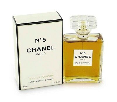 Chanel No.5 100ml Womens Eau de Parfum Spray Perfume
