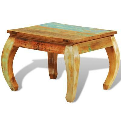 Reclaimed Wood Coffee Table Vintage Antique-style P8L7