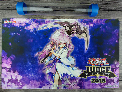 Y-uGi-Oh! Ghost Reaper & Winter Cherries Judge Playmat Free High Quality Tube