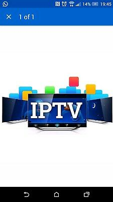 12 Month Iptv Subscription.  Smart Tv, Fire stick, Android Boxes, iOS, Mag
