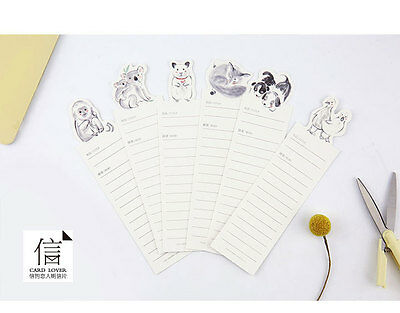 30pc Wild Animals Penguin Elephant Bookmarks For Books Book Markers Readers Gift