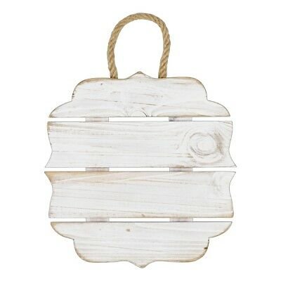 NEW Francheville 4 Slat Square Wood Ornament By Spotlight