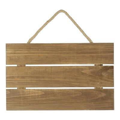 NEW Francheville 3 Slat Wood Hanging By Spotlight
