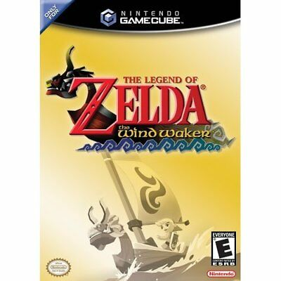 The Legend Of Zelda: The Wind Waker For GameCube 4E