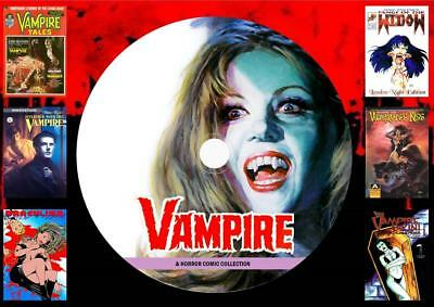 Vampire & Horror Comics On DVD Rom