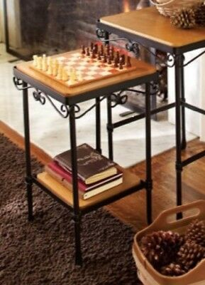 Longaberger Wrought Iron Small Nesting Side Table NO SHELVES NIB