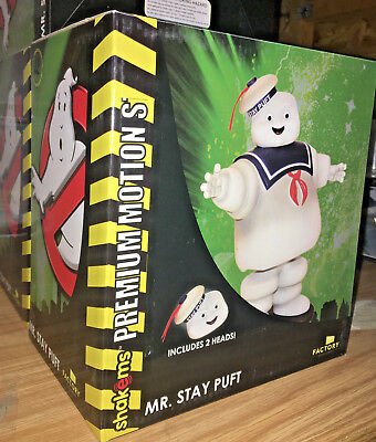 GHOSTBUSTERS Stay Puft Marshmallow Man Premium Statue Factory Entertainment New