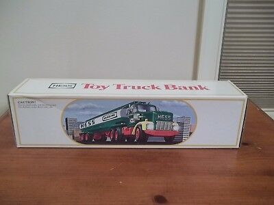 Mib 1984 Hess Toy Truck Bank Fuel Oil Tanker+Box +Inserts Mint Truck Tested! New