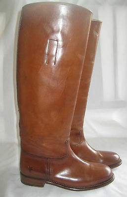 4ce42380967 FRYE ABIGAIL RIDING Boot Whiskey Color Leather Women Size 5.5  688 ...