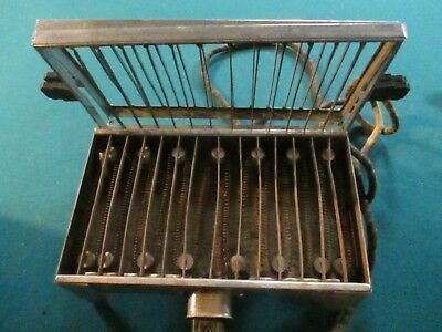 Vintage 1920's Sunbeam Electric Toaster Model #4