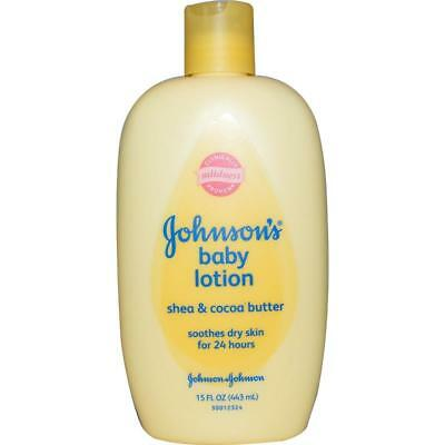 Johnson's Baby, Baby Lotion, Shea & Cocoa Butter, 15 fl oz (443 ml)