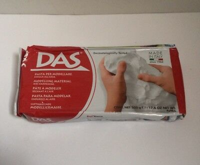 Das Air Dry Modelling Moulding Clay Arts Craft  Children Kids Adult -500g