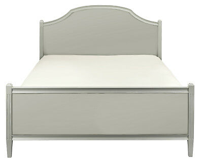 Abella Elegance French Bed Frame(Grey, Taupe Or Antique White)