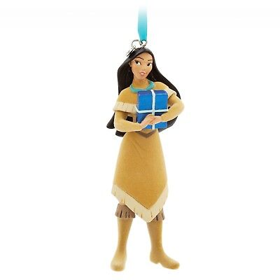 NEW Disney World Store Pocahontas Sketchbook 2017 Christmas Ornament  NEW in BOX