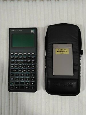 hp 48gx graphing calculator 128k ram case cad  140 05 picclick ca TI-83 Graphing Calculator TI-84 Graphing Calculator