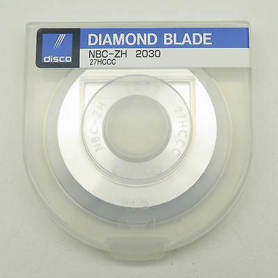 Disco 27HCCC NBC-ZH2030 Aluminum Hub Diamond Silicon Wafer Dicing Blade