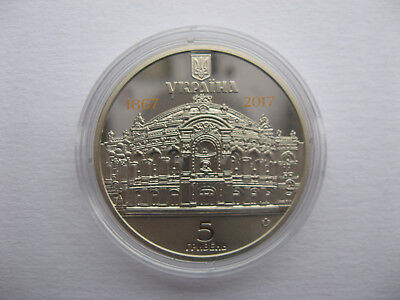 Ukraine 5 griven 150 years of the National Academic Opera and Ballet Theater