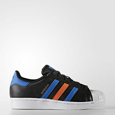 New adidas Originals Superstar Shoes BB0353 Kids' Black Sneakers