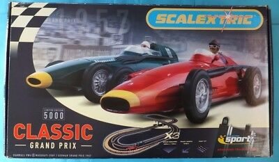 SCALEXTRIC C1159 Classic Grand Prix Ltd Edition Boxed Set NEW/SEALED Very Rare