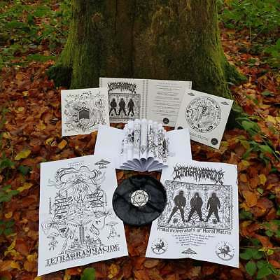 TETRAGRAMMACIDE - Primal Incinerators of Moral Matrix Gatefold LP + Booklet & Po