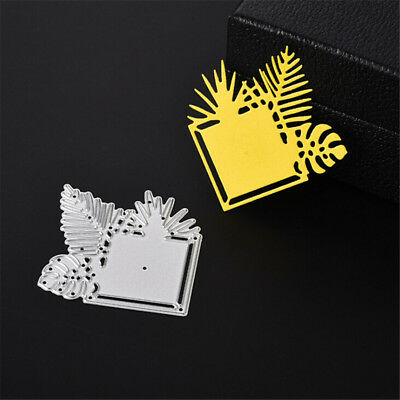 Card Lace Metal Cutting Dies Stencils For Scrapbooking DIY Album Cards Decor FO